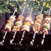 Bazaar 33-Cm-Barbecue des rostfreien Stahls grillt Nadelnwohnung bbq Nadeln