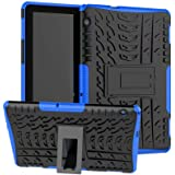 XITODA Funda Huawei MediaPad T5 10, Hybrid Rugged Armor Duro PC + TPU Silicone Back Case Cover Carcasa para Huawei MediaPad T
