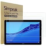 Simpeak Pellicola Protettiva Compatibile per Huawei Mediapad T5 10 [2 Pack], Vetro Temperato Protezioni schermo HD Compatibil