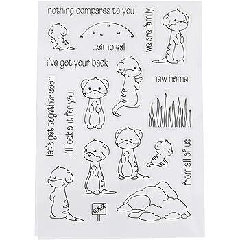 4 Kinder-Schirm transparent Murmeltier Sonstige Spielzeug-Artikel