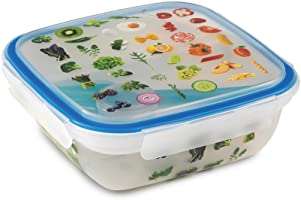 Snips 1.5 Liter Trendy Lunch Box Set - SN-033070, Multi-Colour
