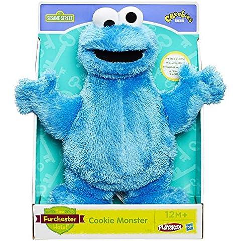 Playskool Barrio Sésamo Monstruo de las galletas azul