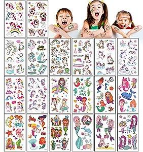 UniBaby7 Tatuajes Temporales para Niños,