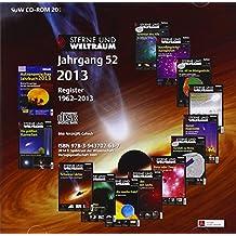 Sterne und Weltraum 2013, CD-ROM Jahrgang 52. Register 1962 - 2013