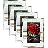 Amazon Brand – Umi - Cadres Photo 10x15cm en Verre Lot de 4 à Poser Cadre Moderne