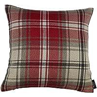 Edinburgh Einzeln Rot Tartan Schottenstoff Wendbare Baumwolldecke Decke Set Bettwaren, -wäsche & Matratzen