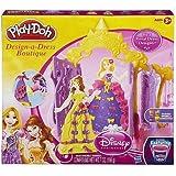 Play Doh Disney Princess Design a Dress Boutique - Belle and Rapunzel by Play-Doh