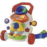Chicco Gioco Primi Passi in Musica 2in1, Primi Passi per Bambini Colorato con Centro Attività Elettronico e Sensore di Movime