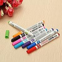 8 Colors Sets Kid Whiteboard Marker Dry Erase Office Easy Wipe Bullet Tip Pen