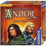 KOSMOS Die Legenden von Andor 692537 - Chada und Thorn, Spiel für zwei, Strategiespiel