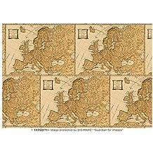 Carta Tassotti Europa Confezione 3 fogli 100x70 cm