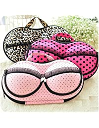 Hk Villa Lingerie Nylon Bra Bag Travel Organizer Small Compact Bra,Organizer Case,Travel Bag Bra Storage Bag,Bra...