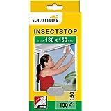 Schellenberg 50714 nylon horrengaas, muggen en insectengaas inclusief bevestigingstape, bevestiging zonder te boren, 130 x 15