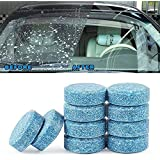 mahek accessories 10PCS/1Set Car Wiper Detergent Effervescent Tablets Washer Auto Windshield Cleaner Glass Wash Cleaning Comp