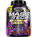 MuscleTech Mass Tech Extreme Triple Chocolate Brownie Weight Gainer 7 Lbs
