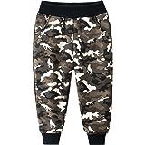 dPois Pantalones Cargo Niño Camuflaje Moda Callejera Urbana Pantalón Deportivo Hip Hop para Adolescentes Jóvenes y Niños Pant