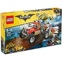 Imponente coche todoterreno de Killer Croc de la la pel�cula de Lego de Batman
