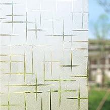 Rabbitgoo® 3d no es adhesivo estática emitir luz decorativo película para ventana de cristal de privacidad anti-UV 90cmx200cm