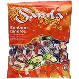 Samia Bonbons Tendres Halal 590 g - Lot de 5