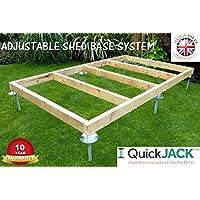 QuickJack SHED BASE SYSTEM- QUICK JACK FOR SOFT SURFACES- 8 FT X 6 FT- KIT2