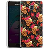 Samsung Galaxy A3 (2016) Housse Étui Protection Coque Tête de mort Motif Motif