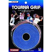 TOURNA Grip - Overgrip de Tenis (Pack de 10 Grips), Azul, L