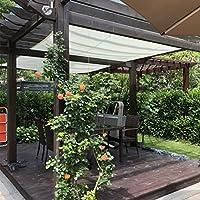 Frilivin Toldo Rectangular de protección Solar jardín Protección UV Premium toldos Sombra Paño ...