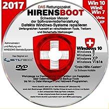 "Notfall-CD für Windows Betriebssysteme inkl. Windows PE Umfangreicher ""Erste Hilfe Koffer an SoftwareTools zur Rettung"" STILTEC Distribution"