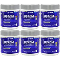 6 Pack of USN Creapure Pure Creatine Monohyd 500 g
