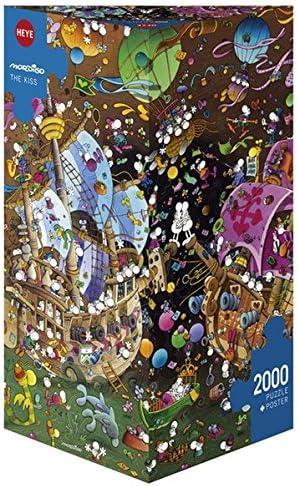 Amix - Heye-29699 - - - Puzzle Classique - The Kiss - 2000 Pièces | Emballage élégant Et Robuste  93a7f6