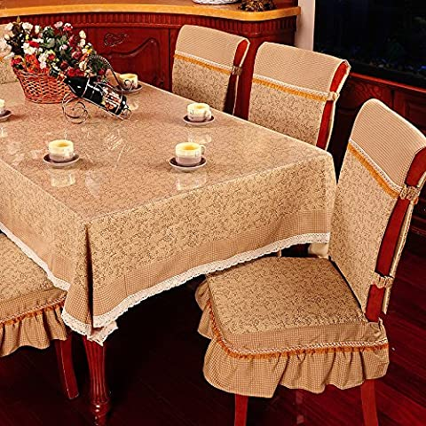 Stile pastorale cotone e lino stampato tovaglie, Olives red, 150*220cm(59.1*86.6