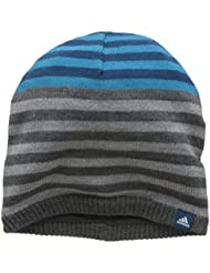 adidas Children's Stripy Beanie Hat