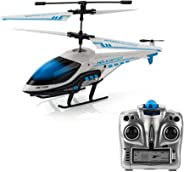KOOWHEEL Helicóptero Teledirigido del Helicópteros de radiocontrol del Mini Helicóptero del Vuelo De RC Juguete Plano del Avión Regalo para Niños Resistencia al Choque Giroscopio Incorporado