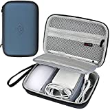 Apple Pencil Travel Hard Case Cover for Apple Magic Mouse–MagSafe Charger Power Supply Charging Cable Lightning USB Cable, and more, l