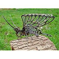3D Schmetterling Garten Deko Dekoration Metall Stahl