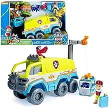 Paw Patrol - Patrulla Canina - Camión Jungle Vehículo Todoterreno Luz y Sonido