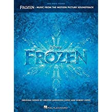 Frozen: music from the motion picture soundtrack piano (Big Note Piano)