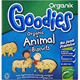 Organix Goodies organiques Biscuits animaux 12mth + (100g) - Paquet de 6