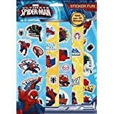Marvel Spider-Man Sticker Fun 5 Sheets of Stickers Travel Stocking Fillers by The Home Fusion Company
