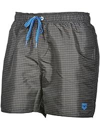 arena Herren Badeshorts Yarn Dyed Boxer (Schnelltrocknend, Kordelzug, Seitentaschen, Weiches Material)