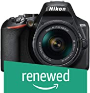 (Renewed) Nikon D3500 W/AF-P DX Nikkor 18-55mm f/3.5-5.6G VR with 16GB Memory Card and Carry Case (Black)