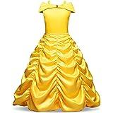 NNJXD Niñas Vestido Largo De Fiesta De Cosplay Disfraz De Carnaval Para Princesa