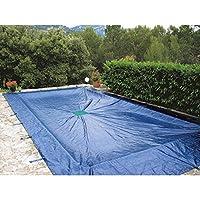 Cubierta 9 x 5 m para piscina rectangular 140 g/m²