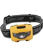Aoile PL-X3Y3-MBZQ KA Camping Hiking Mini 3 LED Head Light Torch Lamp