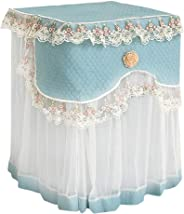 Lace Ruffle Floral Washing Machine Dust Cover Protection Front Durable Soft Home