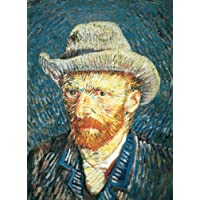 Clementoni 30317 - Puzzle Museum Collection Van Gogh - Autoritratto Con Cappello di Feltro, 500 Pezzi