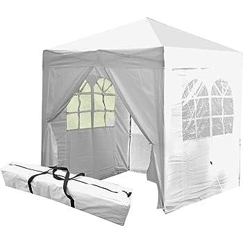 Pop Up Gazebo Tent Event Shelter Car boot Stall C& Shop Garden Marquee Square Waterproof Rain  sc 1 st  Amazon UK & Pop Up Gazebo Tent Event Shelter Car boot Stall Camp Shop Garden ...