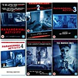 Paranormal Activity Quadrilogy Complete DVD Collection 1-4 + Paranormal Activity: The Marked Ones + Paranormal Activity: The Ghost Dimension + Extras / Special Features by Chris J. Murray