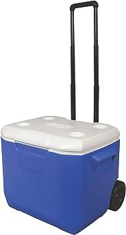 Coleman 3000005152 Polypropylene Wheeled Ice Box, 60 Quart (Blue)