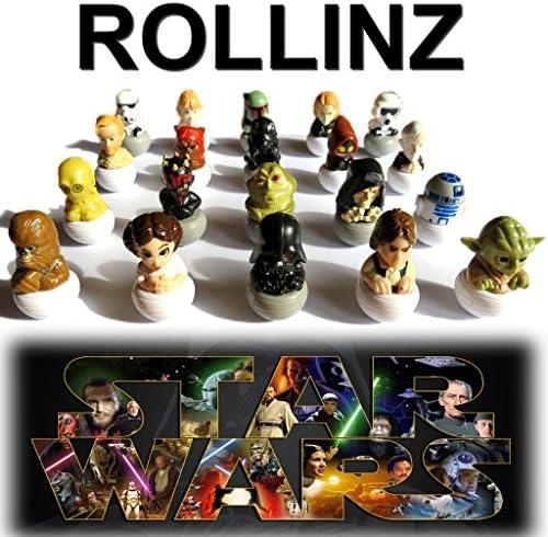 2016 2016 2016 Star Wars Rollinz Esselunga collection complète de 20 personnages   Formes élégantes  3705fa